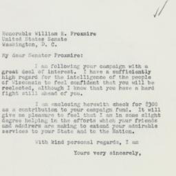 Letter : 1958 October 13
