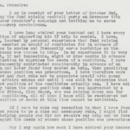 Letter : 1963 October 6