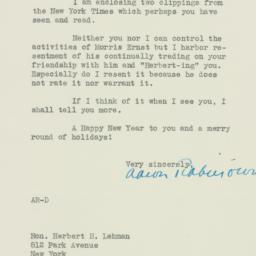 Letter : 1937 December 18