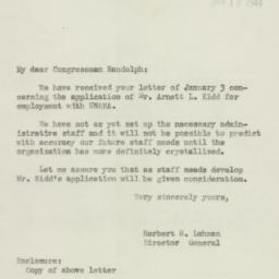 Letter : 1944 January 13
