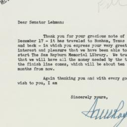 Letter : 1956 January 8