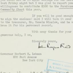 Letter : 1948 November 4