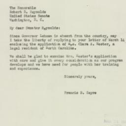 Letter : 1944 March 23