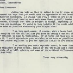 Letter : 1956 February 21