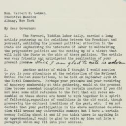 Letter : 1938 September 14