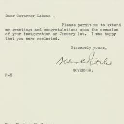 Letter : 1934 December 30