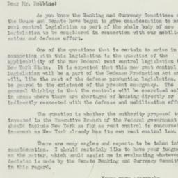 Letter : 1951 April 23