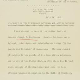 Press release : 1937 July 14