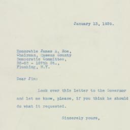 Letter : 1939 January 13