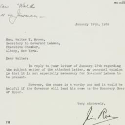 Letter : 1939 January 19