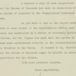 Letter: 1925 October 21