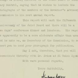 Letter : 1925 November 4
