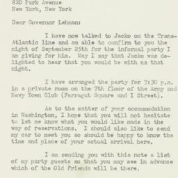Letter : 1947 September 12