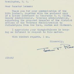 Letter : 1951 August 17