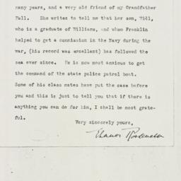 Letter : 1930 April 28
