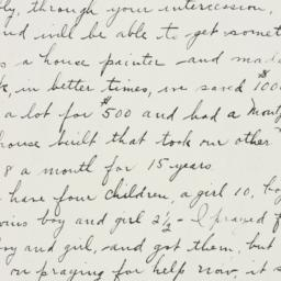 Letter: 1933 March 6
