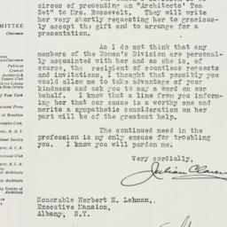 Letter : 1934 February 9