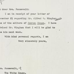 Letter: 1942 December 30