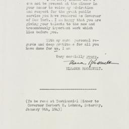 Letter: 1942 December 31