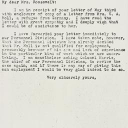 Letter: 1944 May 12