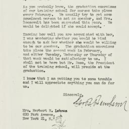 Letter: 1946 November 29