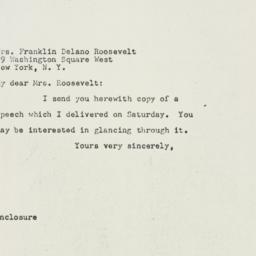 Letter: 1947 October 13