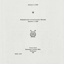 Manuscript: 1929 January 7