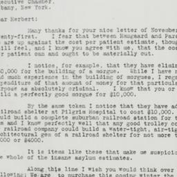 Letter: 1930 November 28