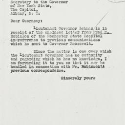 Letter: 1931 May 28