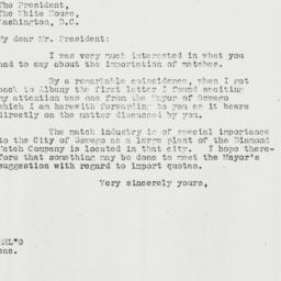 Letter: 1935 May 16