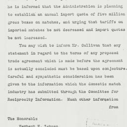 Letter: 1935 May 25