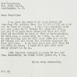 Letter: 1936 December 15