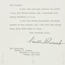 Letter: 1937 July 16