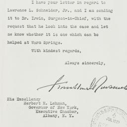Letter: 1939 July 18