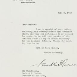 Letter: 1940 June 8