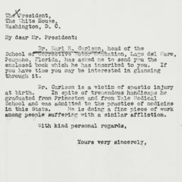 Letter: 1941 May 3