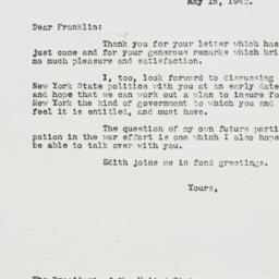 Letter: 1942 May 15