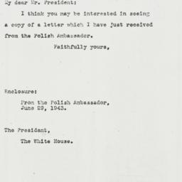 Letter: 1943 July 1