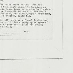 Memorandum: 1944 June 6