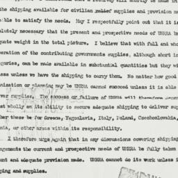Telegram: 1944 December 15