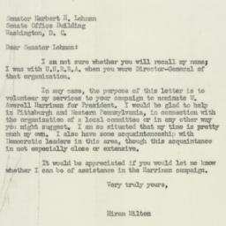 Letter : 1952 April 22
