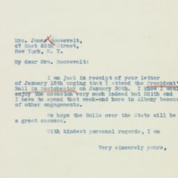 Letter : 1937 January 18