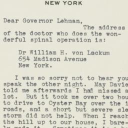 Letter : 1946 February 26