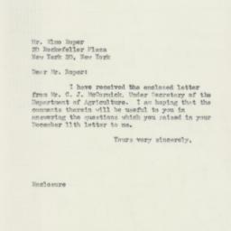 Letter : 1951 February 1