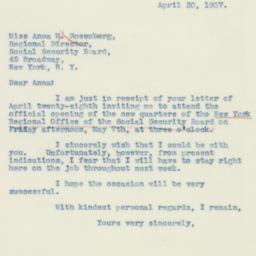 Letter : 1937 April 30