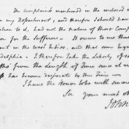 Document, 1796 October 20