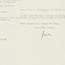 Letter : 1925 December 30