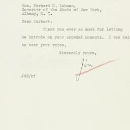 Letter : 1933 January 17