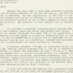 Letter : 1933 March 20
