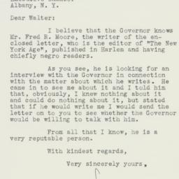 Letter : 1938 February 9
